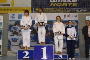 Podium Fase Sector Oeste Campeonato España Absoluto 2015