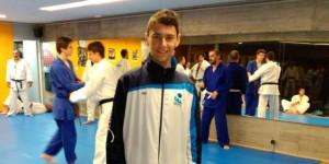 Xiao Calvo - Representate de AD Judo Ferrolterra y Selección Gallega Infantil en el Campeonato de España 2015 en Jaca