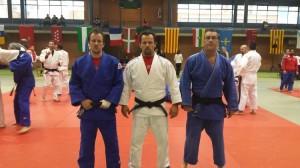 Equipo AD Judo Ferrolterra - Copa España Veteranos Vitoria-Gasteiz 2015