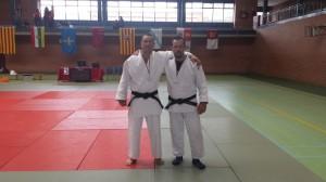 Sergio Perez - izquierda - y Alberto Lopez - derecha - Bronce y Plata respectivamente