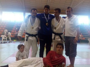 El equipo de A.D. Judo Ferrolterra desplazado al Trofeo Concello de Vilalba