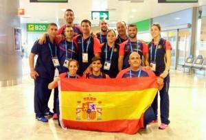 Selección española de Judo para los VI Juegos Militares Mundiales