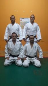 Equipo de veteranos de A.D. Judo Ferrolterra