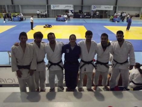Nuestros representantes en la segunda jornada de la liga internacional de clubes de judo Xunta de Galicia 2015